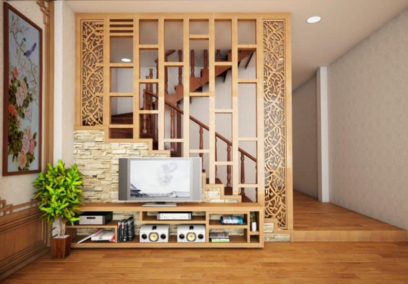 Vách ngăn gỗ đẹp